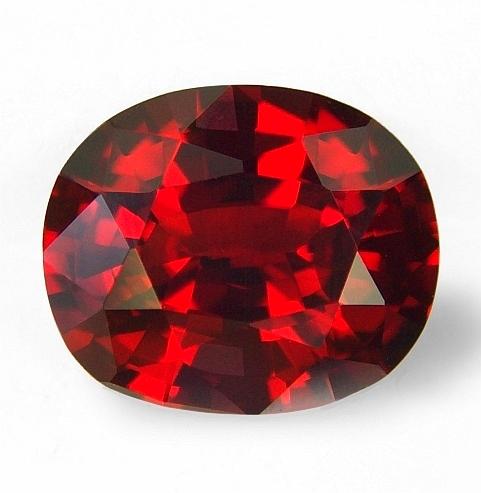 Astrological, Jyotish hessonite garnet or Gomed: for ...