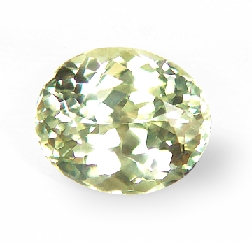 pin sage light stone unheated oval sapphire natural loose green